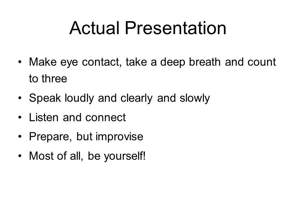 Suggested Sequence for Presentation 1.Introduction 2.