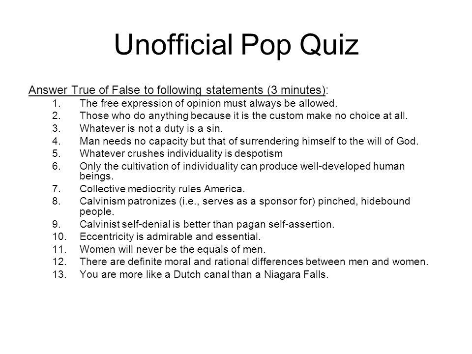 Answers 1.False 2.True 3.False 4.False 5.True 6.True 7.True 8.True 9.False 10.True 11.False 12.False 13.???