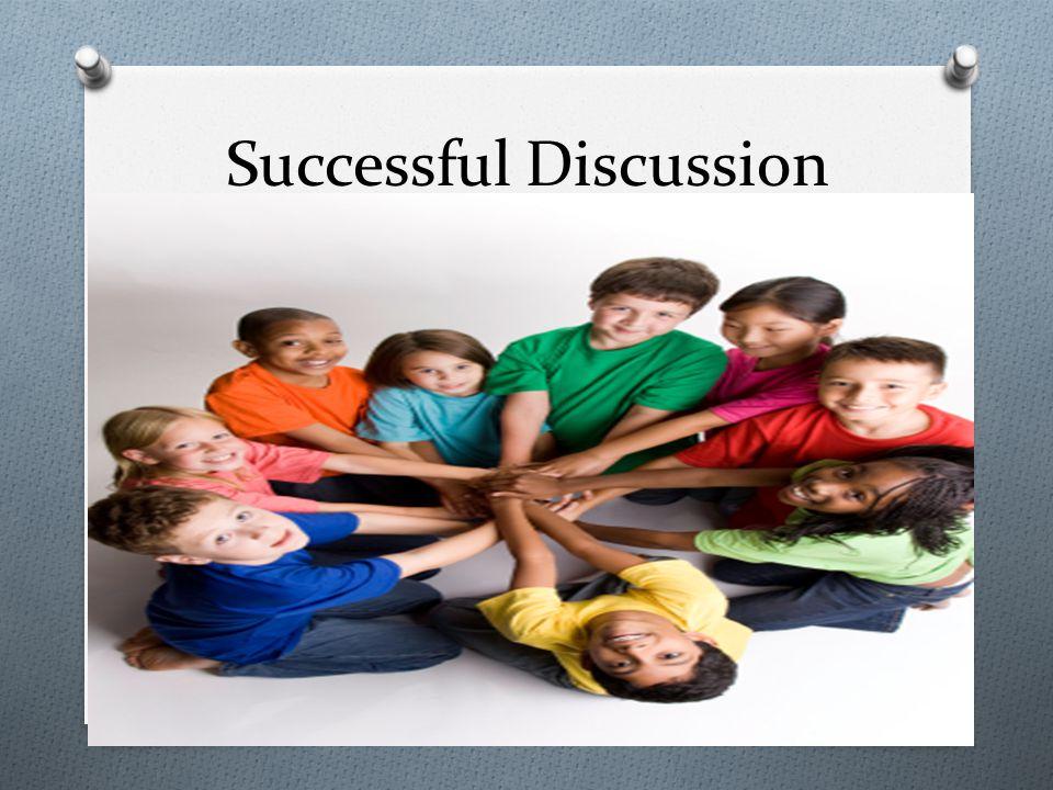 Successful Discussion