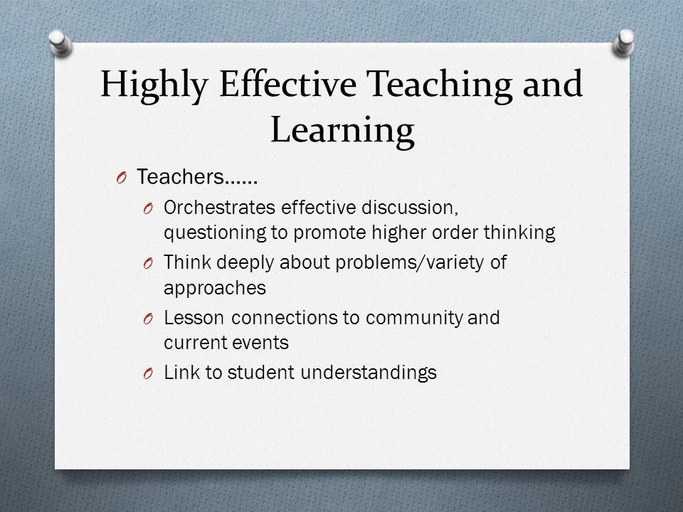 Discussion promotes higher level thinking O Turner and Paris, 1995 O Many and Wisemena 1992 O Anzul 1993 O Gilles 1993