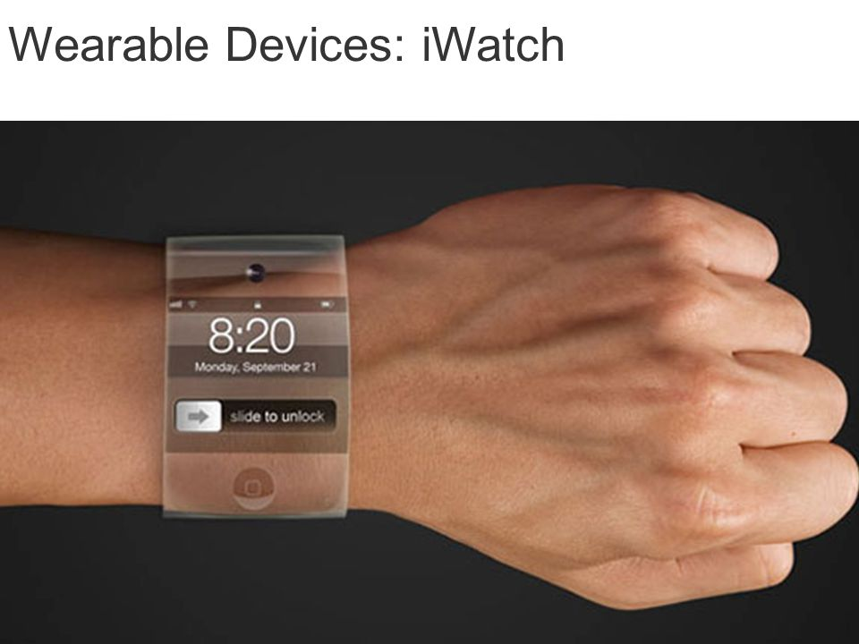 Wearable Devices: iWatch
