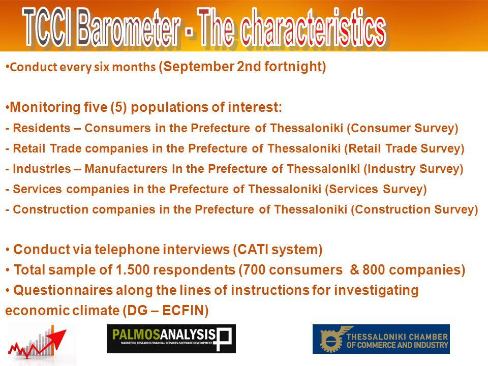 Industry Survey 2 Balances (Positive – Negative ) THE: +3 GR:+9 EU:+0,5 Balances (Positive – Negative ) THE: +21 GR:+24 EU:+2 *Data of July '12 September 2012 *Data of January '13
