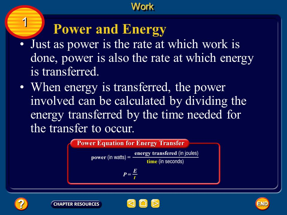 Calculating Power Because the watt is a small unit, power often is expressed in kilowatts. One kilowatt (kW) equals 1,000 W.WorkWork 1 1