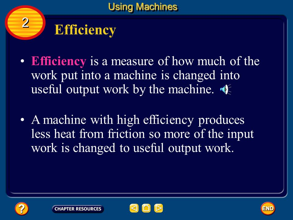 The mechanical advantage of a machine without friction is called the ideal mechanical advantage, or IMA. Ideal Mechanical Advantage The IMA can be cal