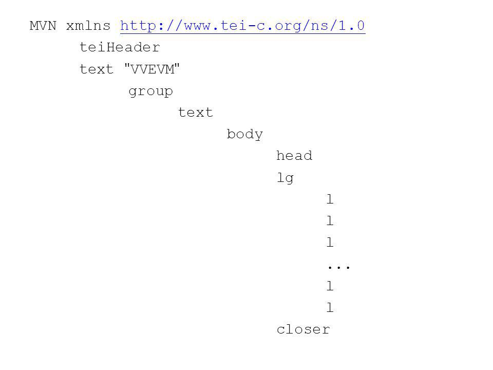 MVN xmlns http://www.tei-c.org/ns/1.0http://www.tei-c.org/ns/1.0 teiHeader text VVEVM group text body head lg l...