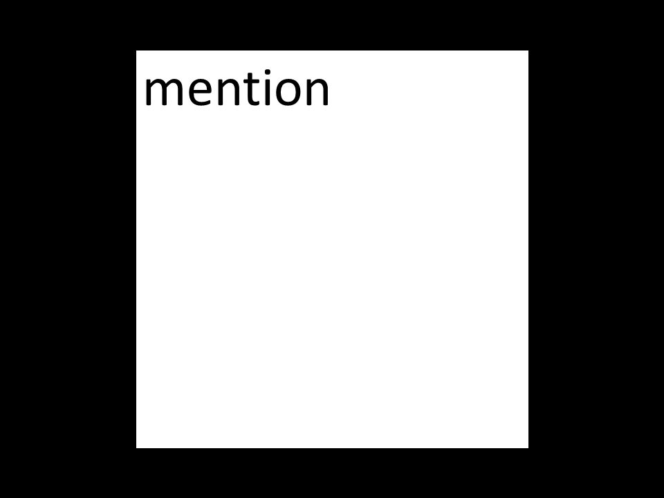 mention