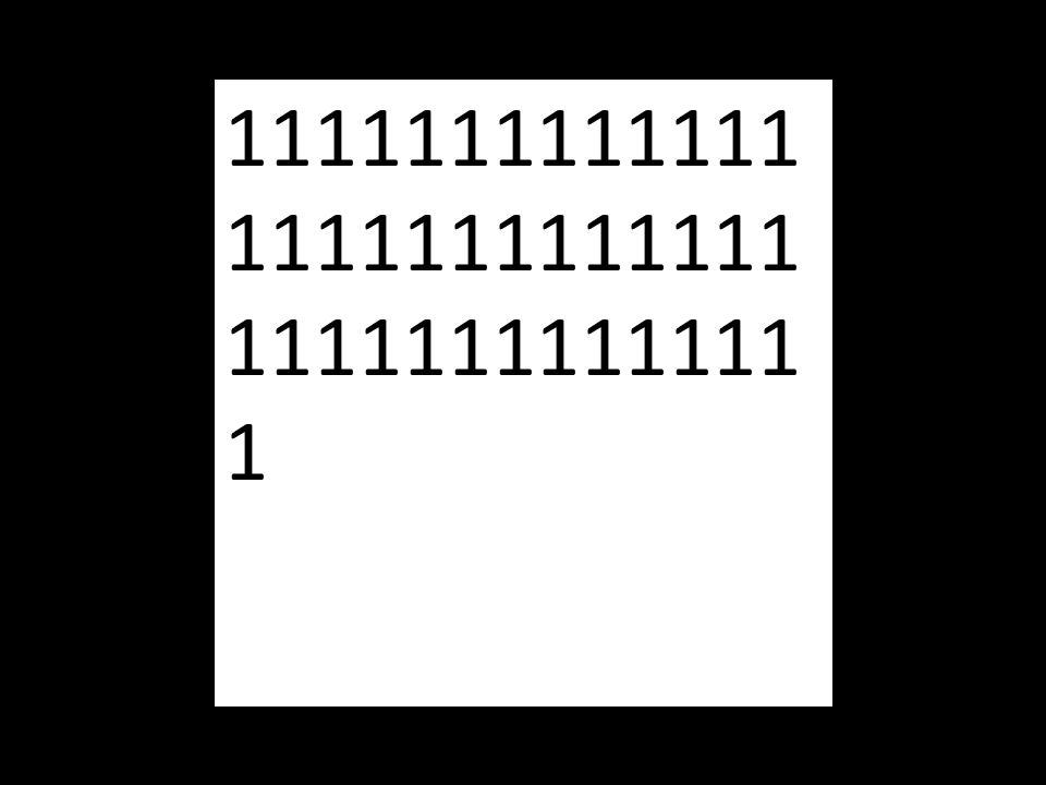 1111111111111 1111111111111 1111111111111 1