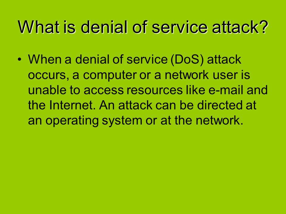 Summary Flood Attacks TCP SYN Flood Attack Smurf IP Attack UDP Flood Attack ICMP Flood Attack