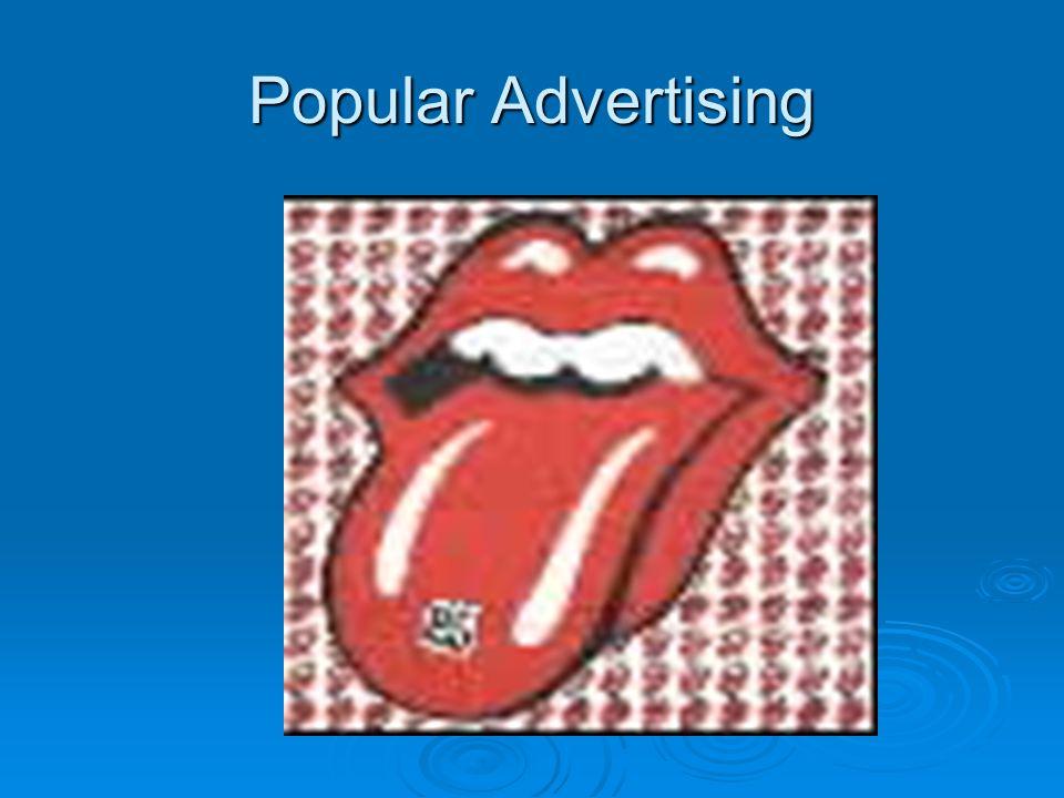 Popular Advertising