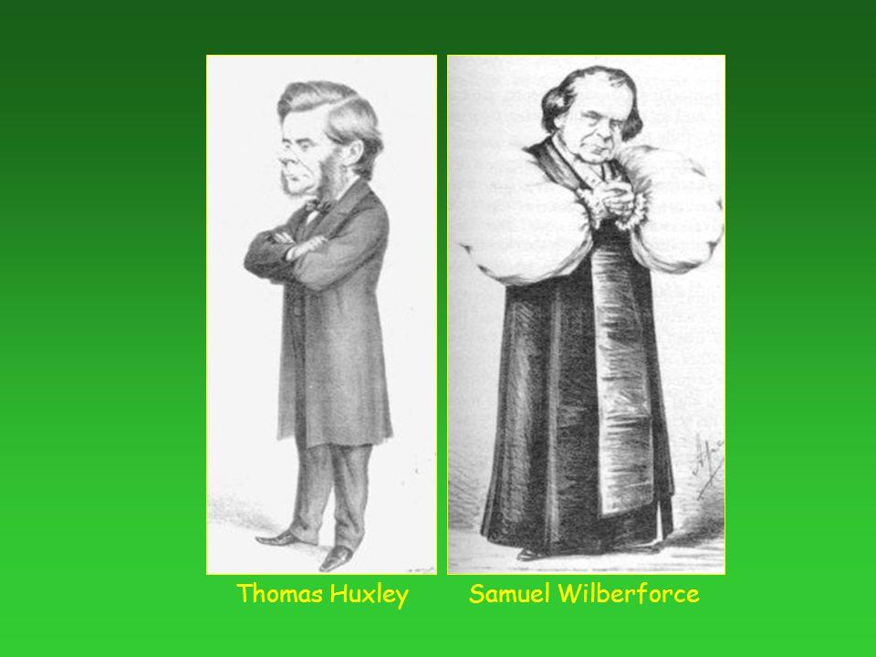 Samuel WilberforceThomas Huxley