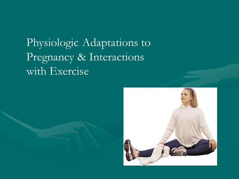 Mechanical Effects Altered center of gravityAltered center of gravity –growing breast, uterus and fetus –increased lumbar lordosis Increased risk of fallIncreased risk of fall Increased joint laxityIncreased joint laxity –Theoretic increased risk for strains/sprains