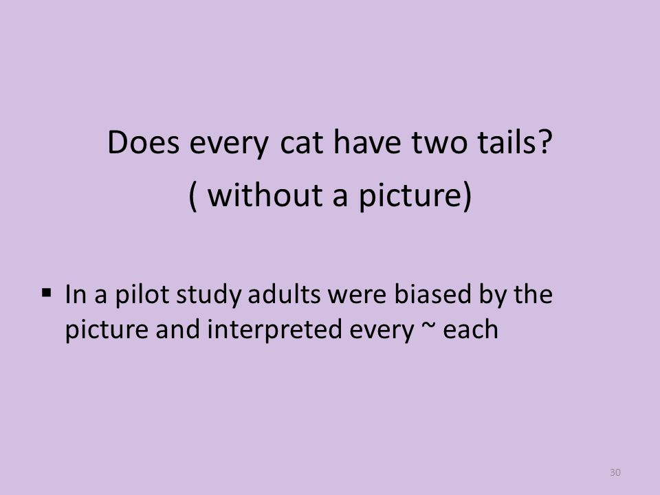 Does every cat have two tails.