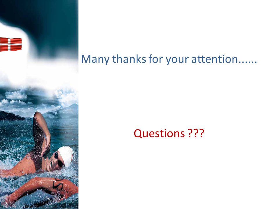 Many thanks for your attention...... Questions