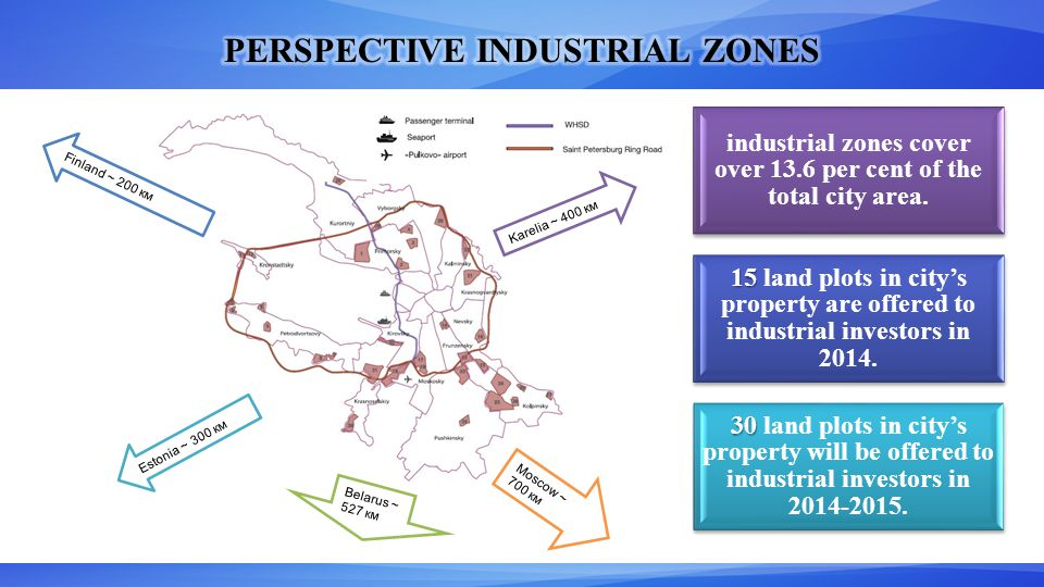 industrial zones cover over 13.6 per cent of the total city area.