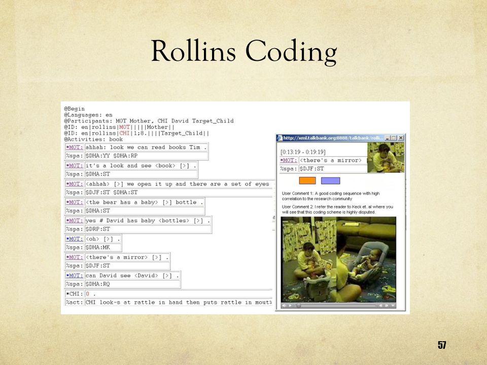 57 Rollins Coding