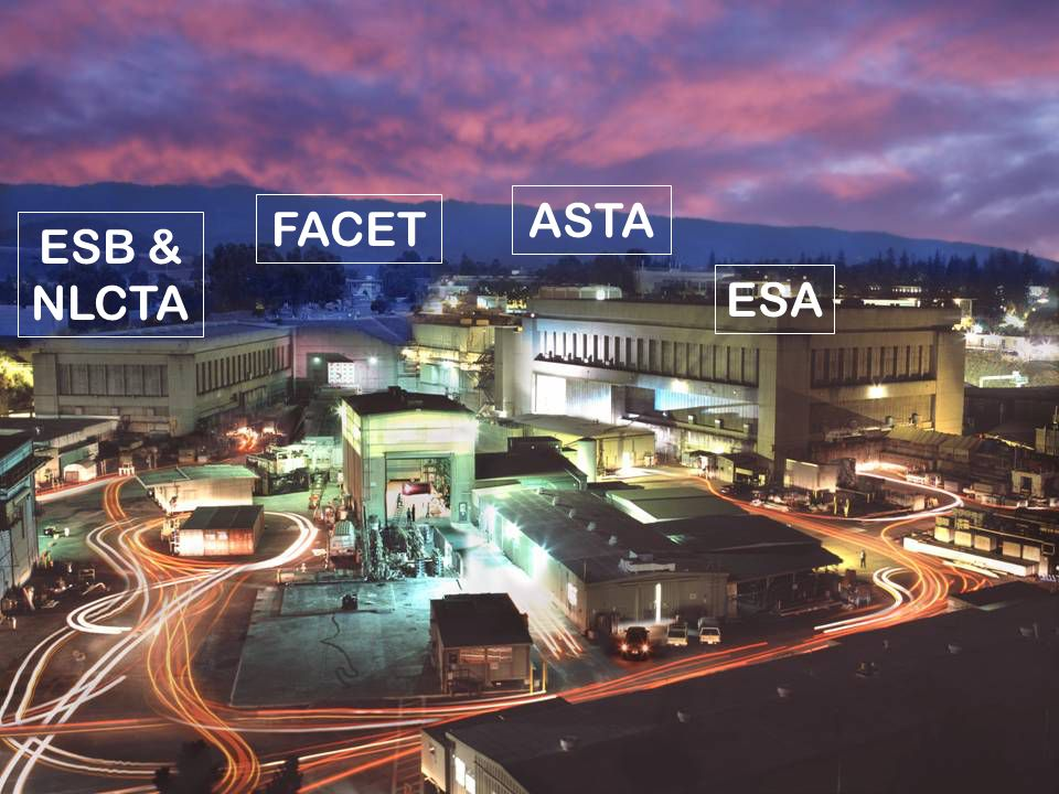 SLAC User FacilitiesCarsten Hast - ARD Test Facilities Department2 ESA ESB & NLCTA FACET ASTA