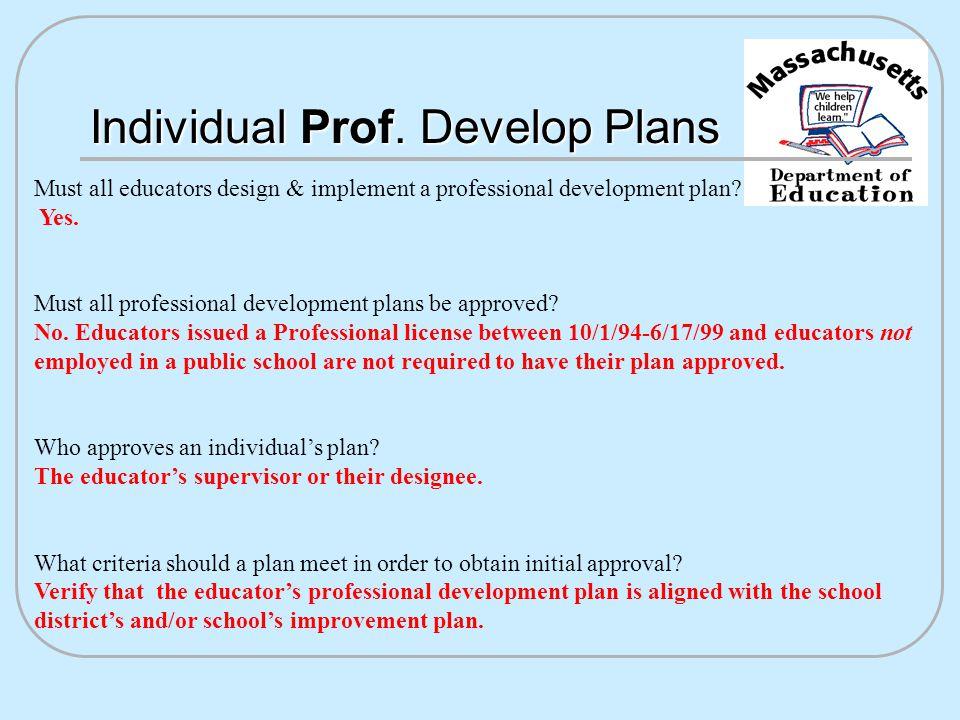 Individual Prof.