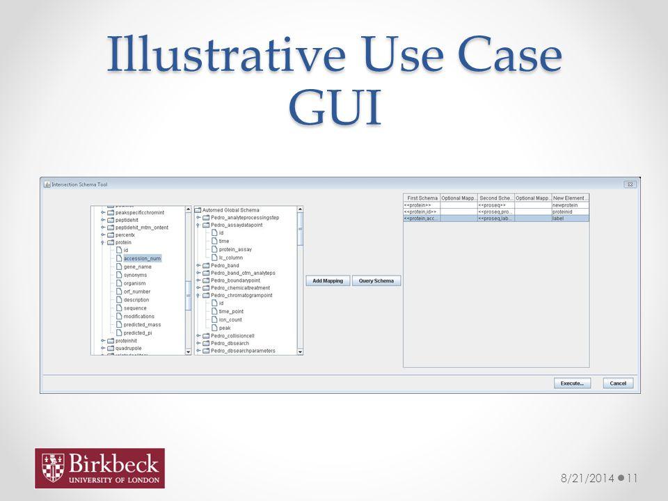 Illustrative Use Case GUI 8/21/201411