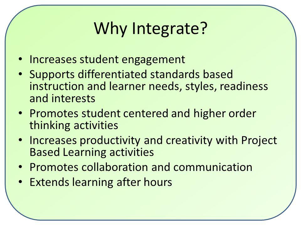 Framework for 21 st Century Instruction