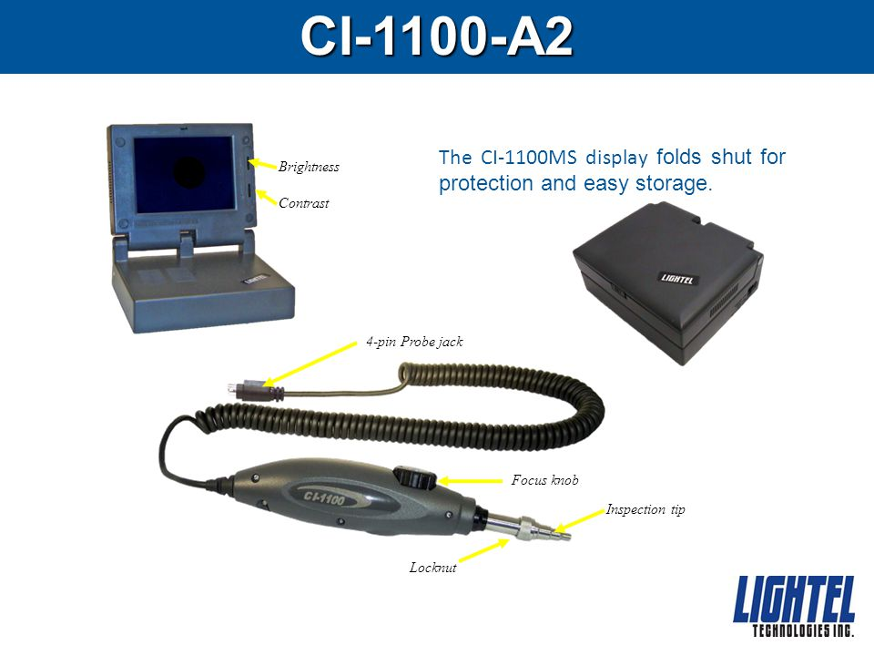 USB for the CI-1100 The CI-1000-USB2 adapter is available for use with the CI-1100-A2 package.