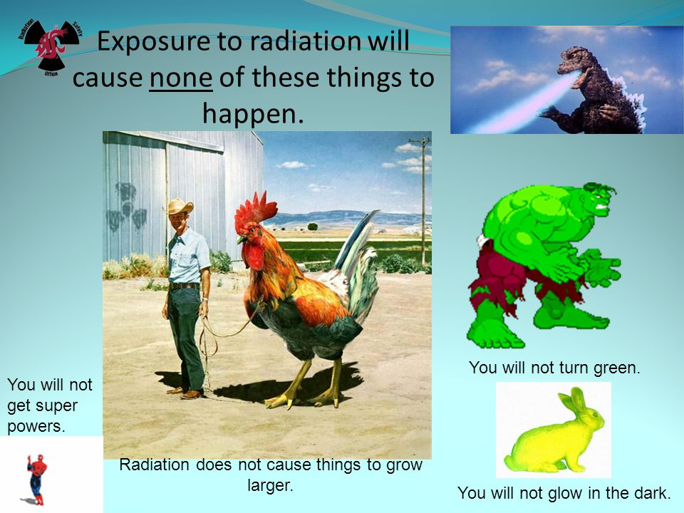 CHRONIC AND ACUTE EXPOSURE CHRONIC: Radiation dose over a long period of time or at frequent intervals.