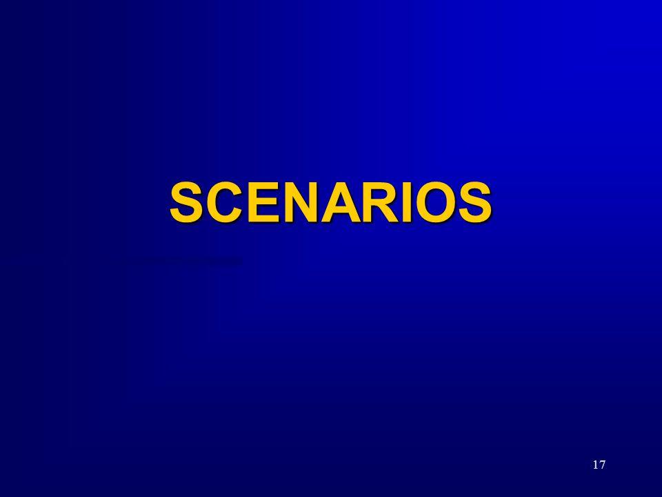 17 SCENARIOS