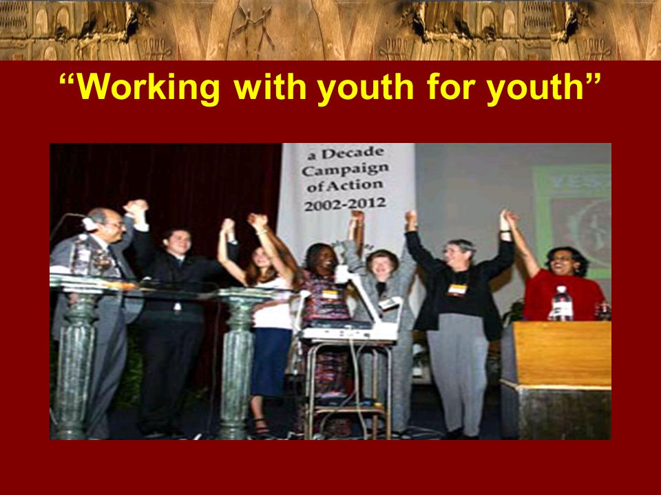 """Working with youth for youth"""