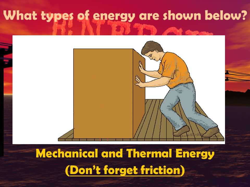 QUIZ TIME.What energy transformation occurs when an electric lamp is turned on.