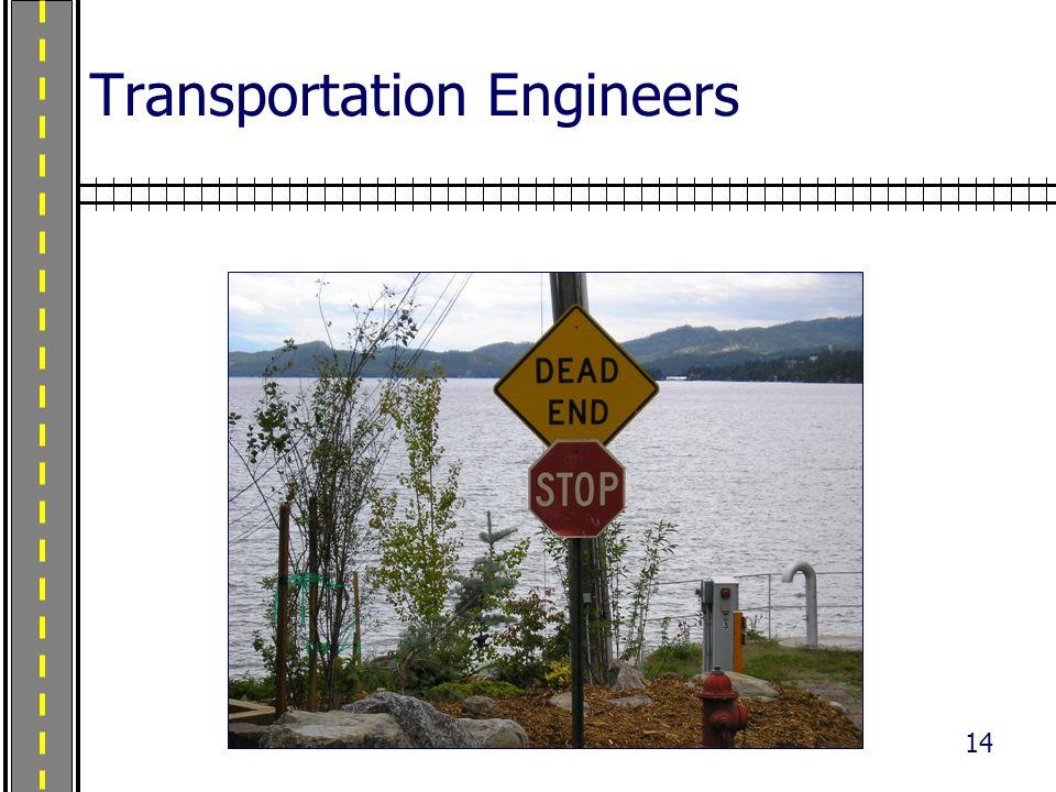 14 Transportation Engineers