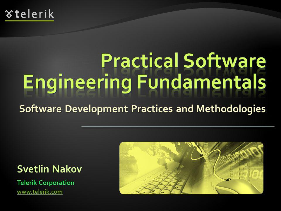 SoftwareRequirementsSoftwareRequirements SoftwareDesignSoftwareDesign Implementation(Coding)Implementation(Coding) Verification(Testing)Verification(Testing) Operation(Maintenance)Operation(Maintenance)  The waterfall development process: