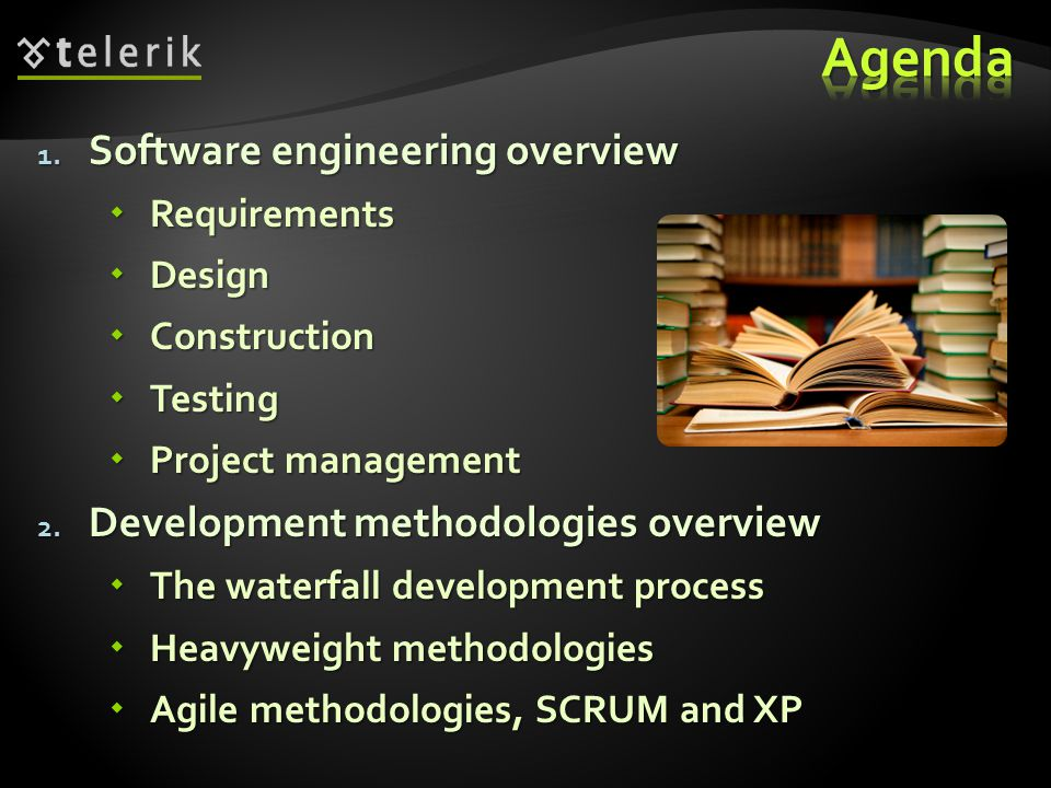Requirements, Design, Construction, Testing