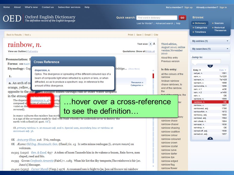…hover over a cross-reference to see the definition…