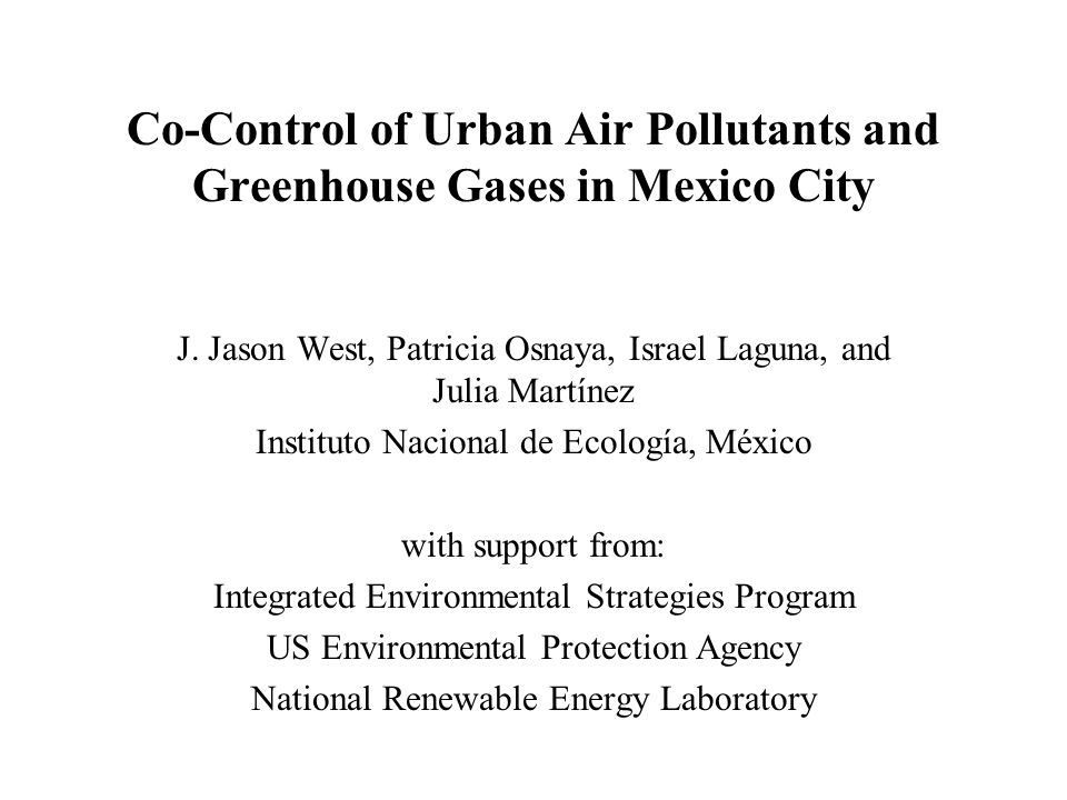 Local and CO 2 control - including national measures Minimize NPV (fuel) for PROAIRE objectives, and vary the restrictions for CO 2 emissions.