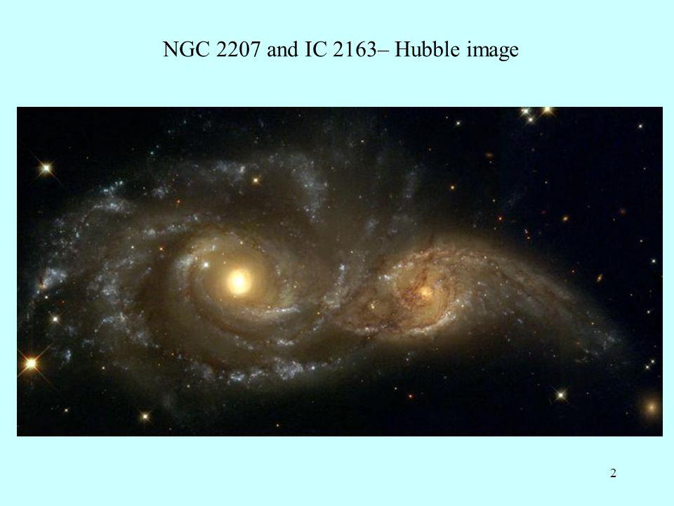 53 Hibbard s website HI 21cm Formation of tidal dwarfs