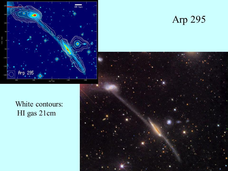 25 Splash of interstellar gas Messier 81, Messier 82, NGC 3077HI