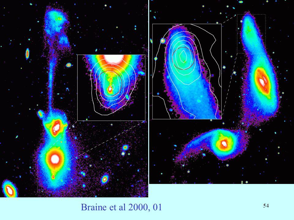 54 Braine et al 2000, 01