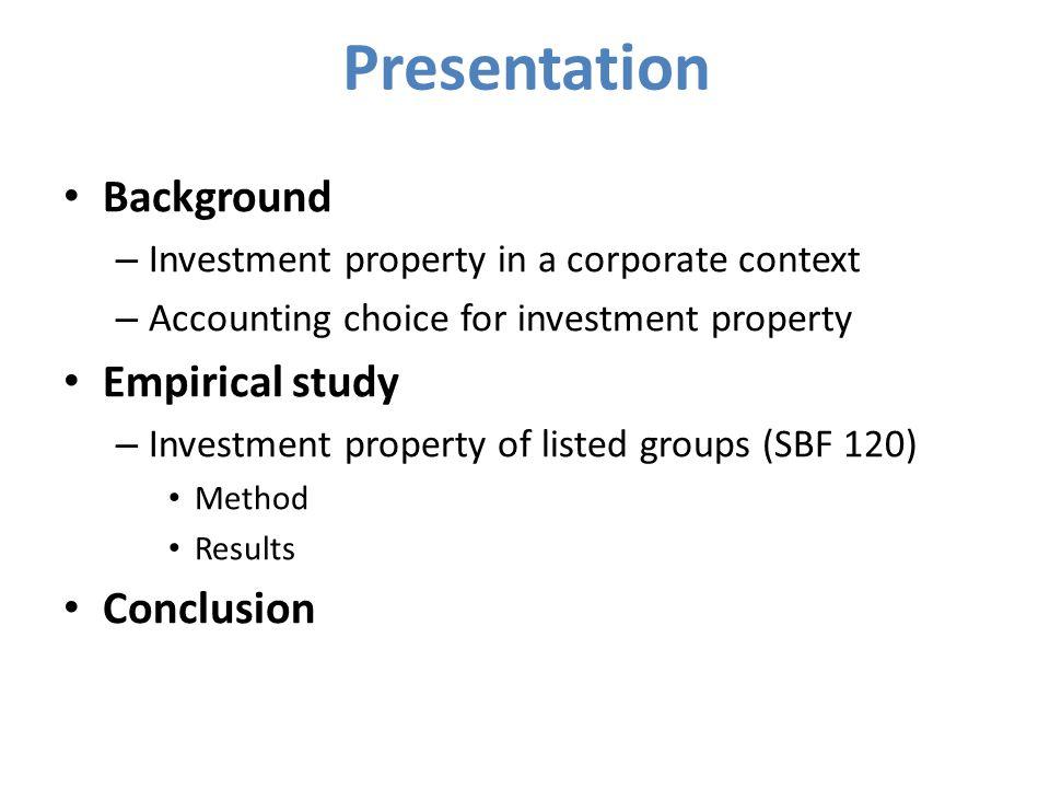 3ème partie - Etude empirique: les groupes cotés du SBF 120