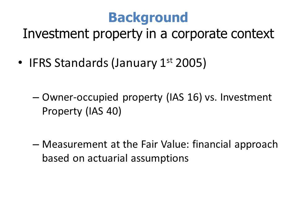 Empirical Study SBF 120 listed companies