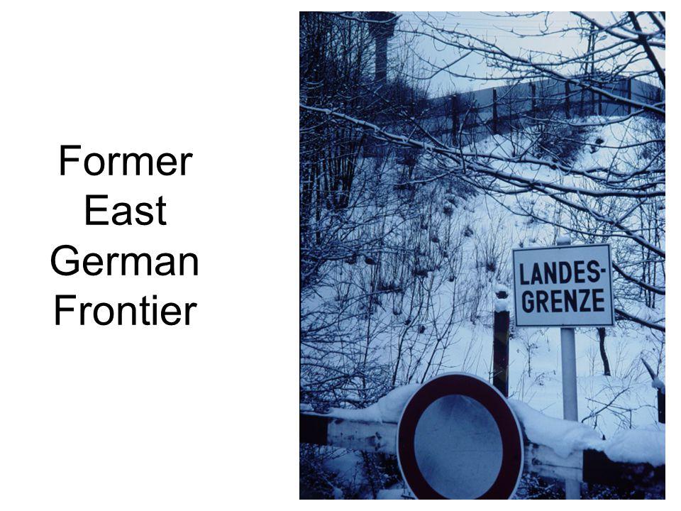 Former East German Frontier