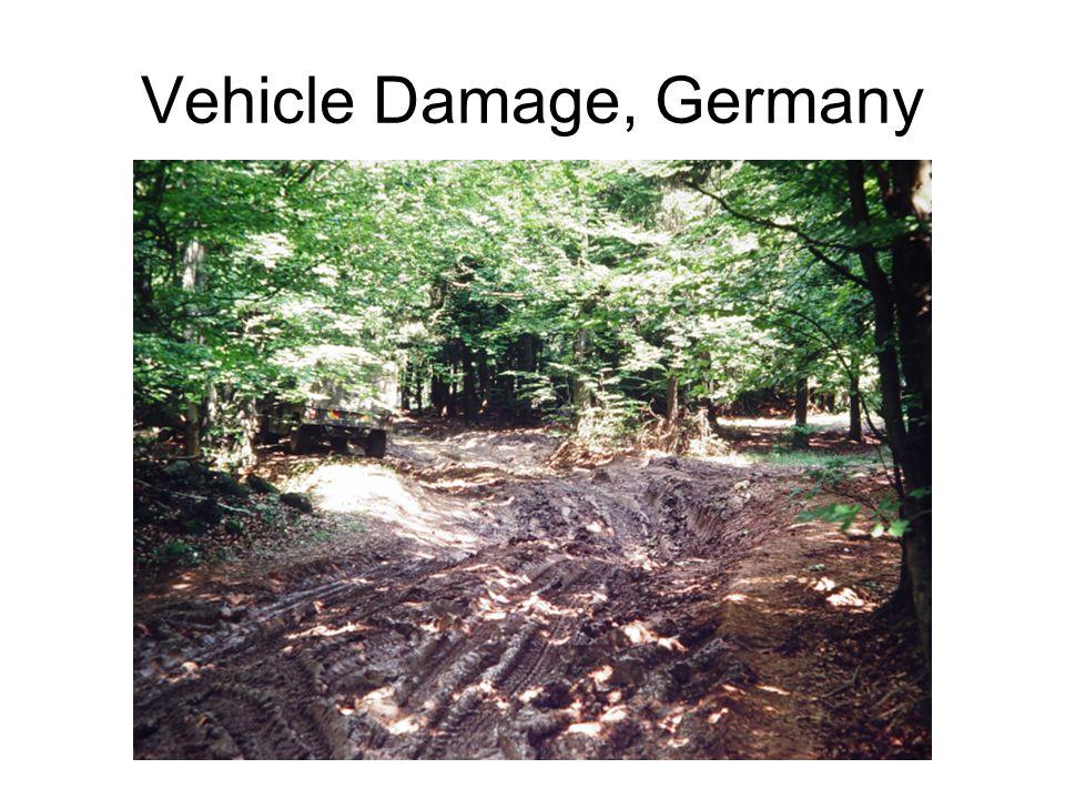 Vehicle Damage, Germany