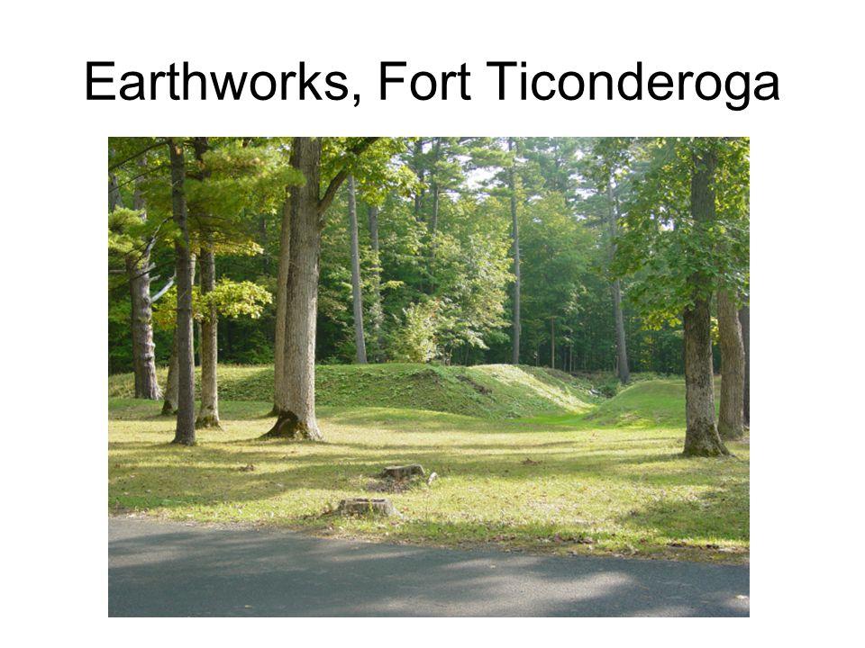 Earthworks, Fort Ticonderoga