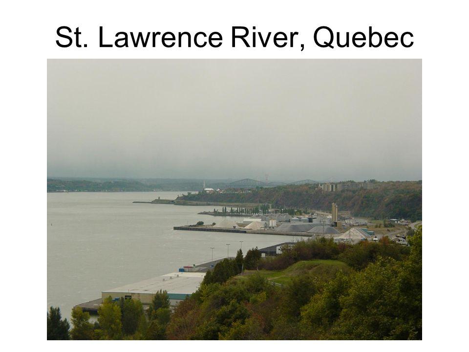St. Lawrence River, Quebec