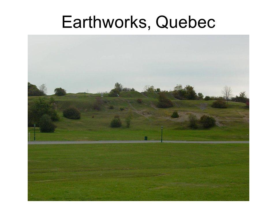 Earthworks, Quebec