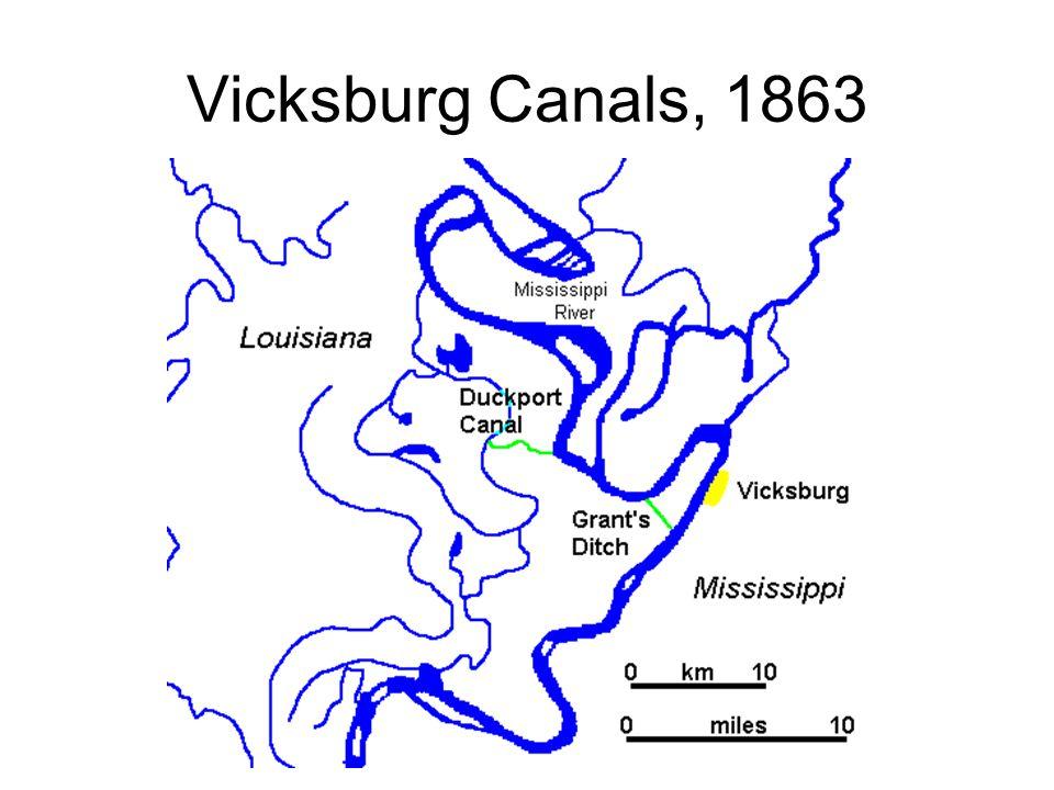 Vicksburg Canals, 1863
