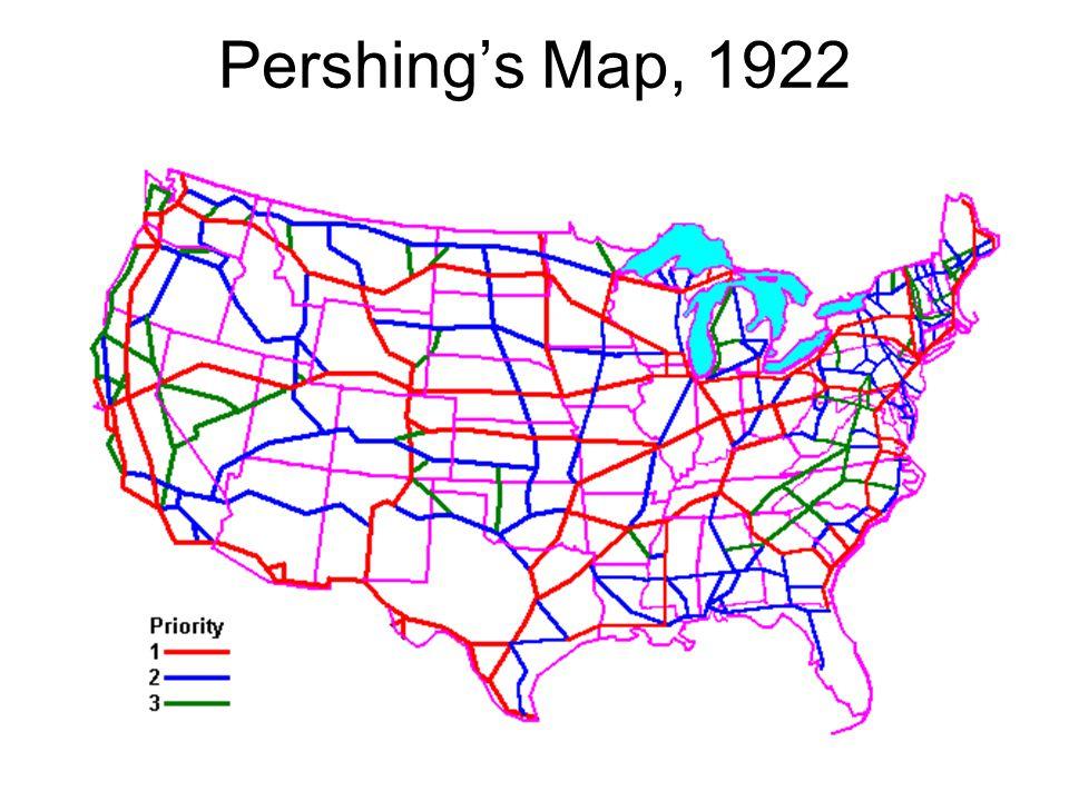 Pershing's Map, 1922