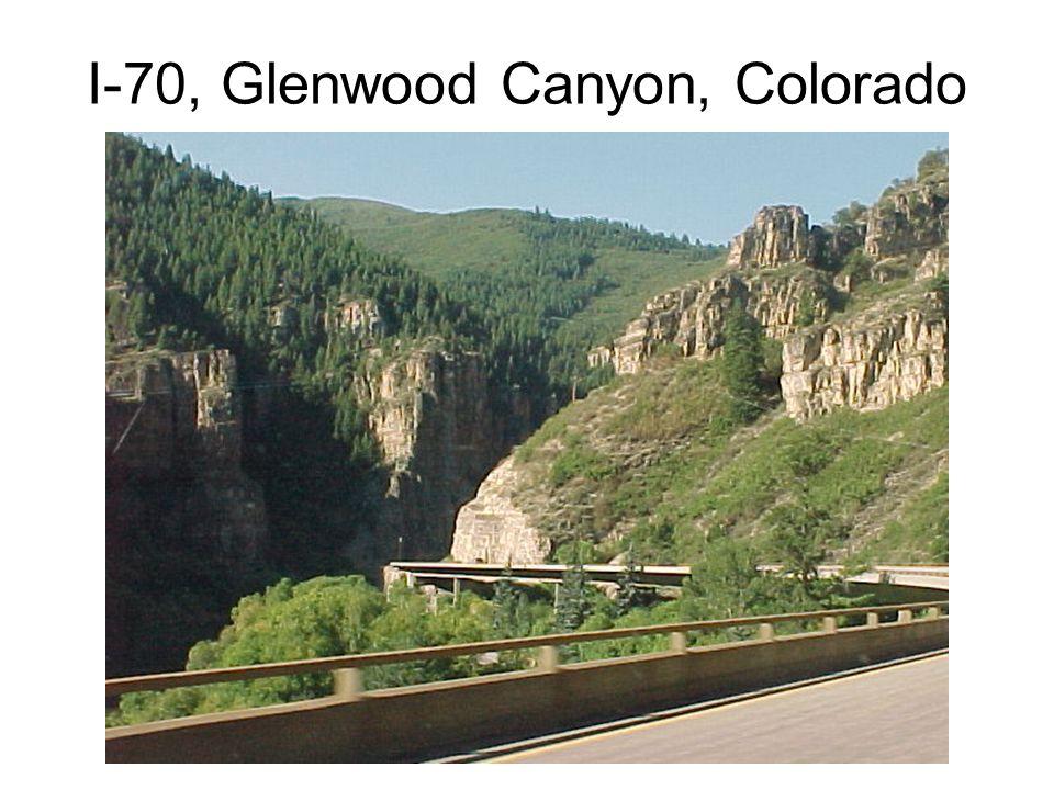 I-70, Glenwood Canyon, Colorado