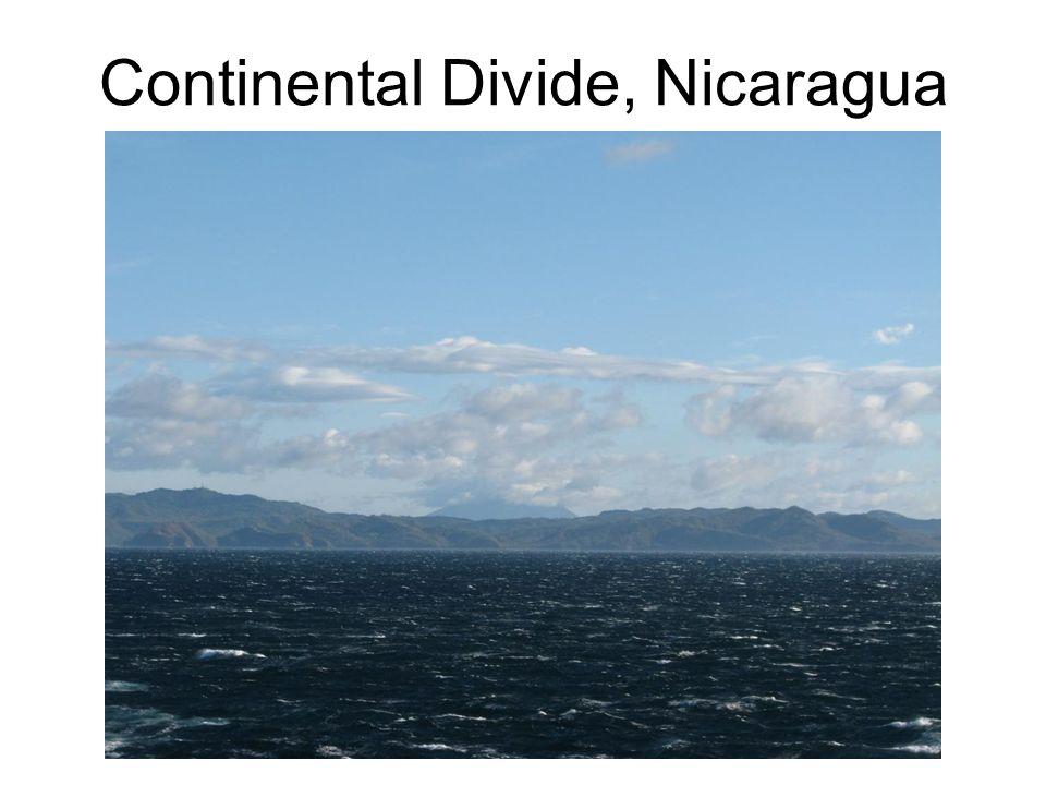 Continental Divide, Nicaragua