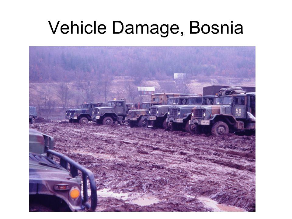 Vehicle Damage, Bosnia