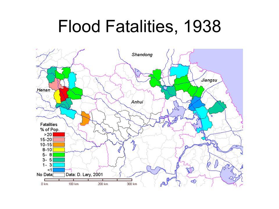 Flood Fatalities, 1938
