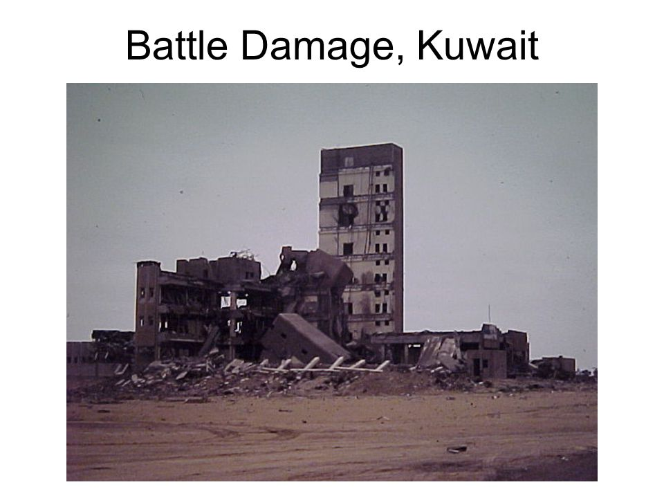 Battle Damage, Kuwait